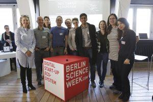 Welcome to the entrepreneurial side of Berlin Science Week (Bild: Dirk Enters)
